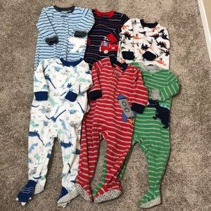 Carter's footie pajamas bundle